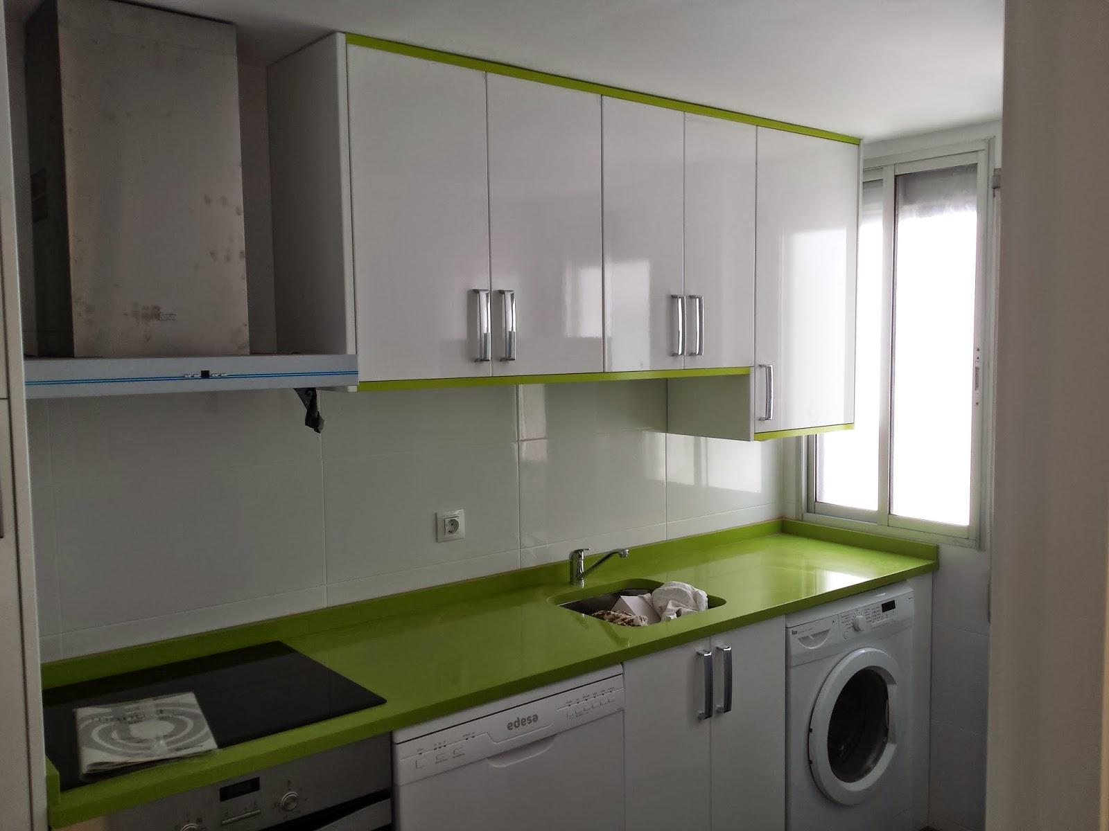 Muebles De Cocina Blanco Y Verde Azarak Com Ideas Interesantes