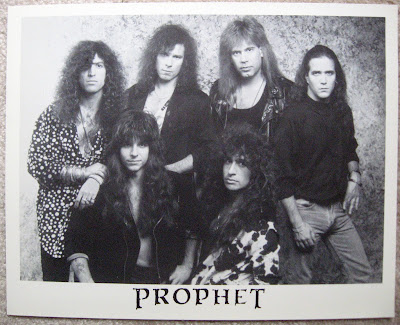 Prophet promotional photo with Dave DiPietro