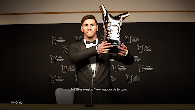 PES 2021 UEFA Men's Player of the Year Award by Rafaam2301
