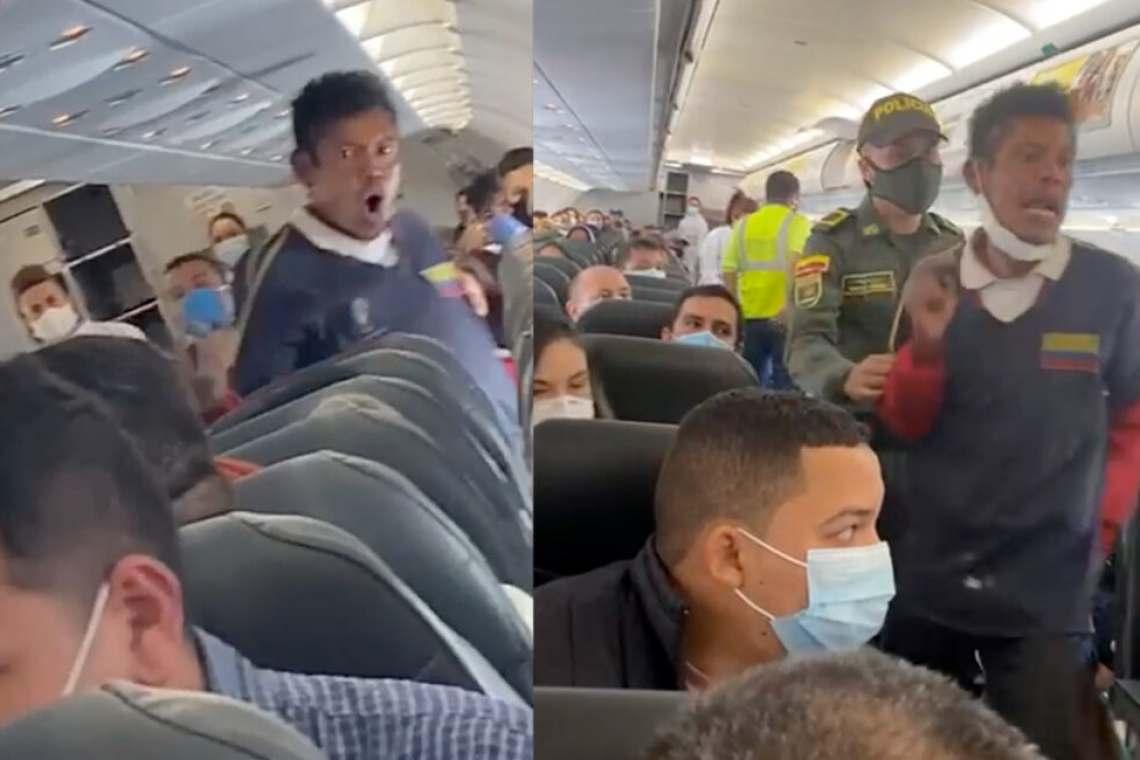 La historia detrás del supuesto habitante de calle que abordó un avión en Bogotá