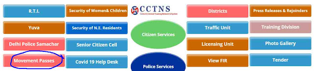 Delhi Police has Started Providing Online Curfew Passes