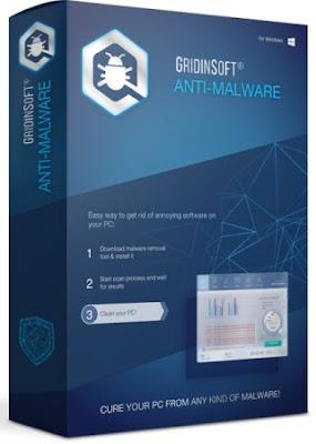 تحميل برنامج  GridinSoft Anti-Malware للحماية من ملفات التجسس