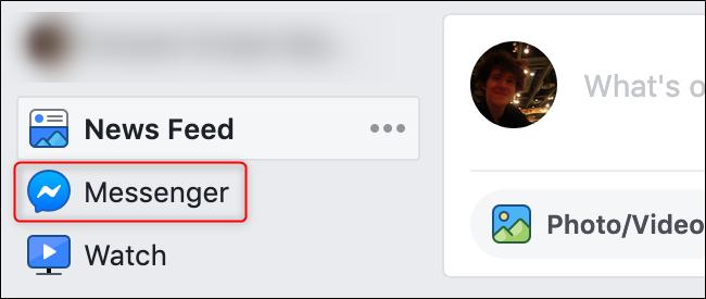 قديم واجهة FB Messenger