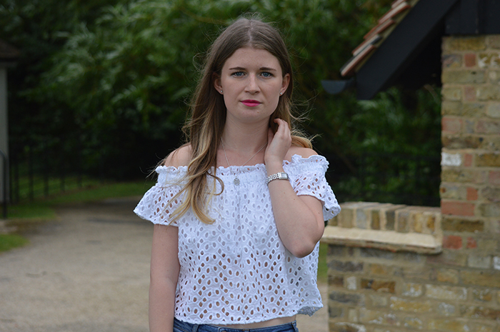 zara off the shoulder top fashion bloggers