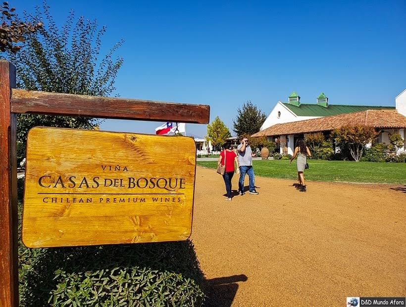 Vinícola Casas del Bosque - Vinícolas chilenas - Valle Casablanca