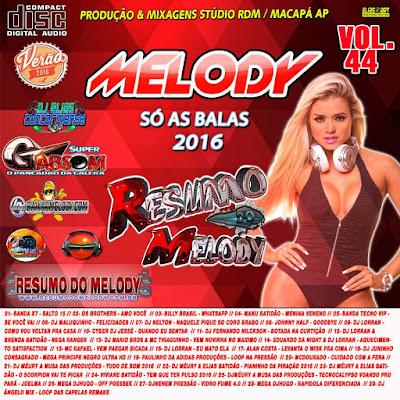 Cd Resumo do Melody vol.44