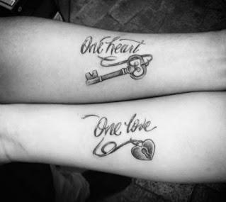 Husband And Wife Tattoos