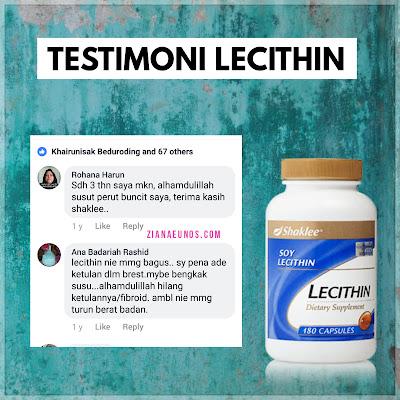 Testimoni Lecithin Shaklee