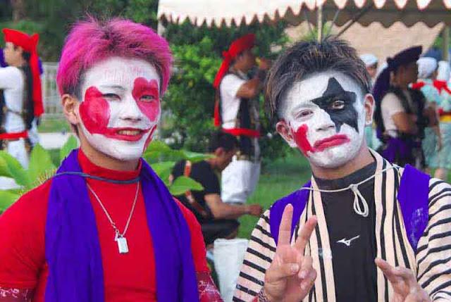 Chondara, Gajan Gani, festival, Eisa, Kin Dam, Okinawa