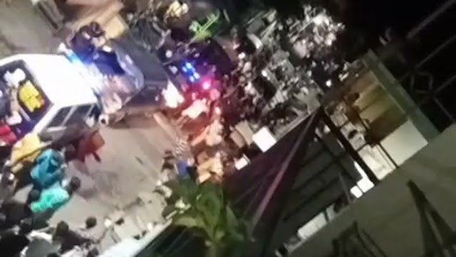 Operasi PPKM Darurat di Surabaya Ricuh, Warga Melawan dan Lempari Petugas