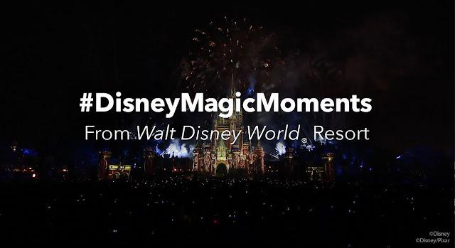 #DisneyMagicMoments, Magic Kingdom, Walt Disney World Resort 分享「Happily Ever After」煙花表演 Full Show 片段