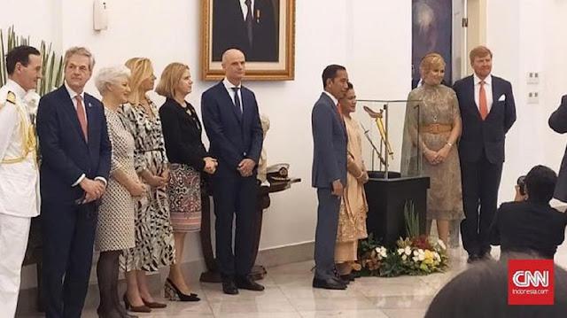 Raja Belanda Willem Alexander Minta Maaf ke jokowi Soal Kekerasan Masa Lalu