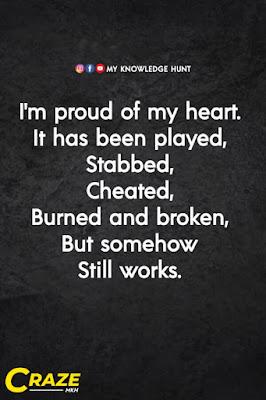 Sad broken heart quotes, Heart broken quote