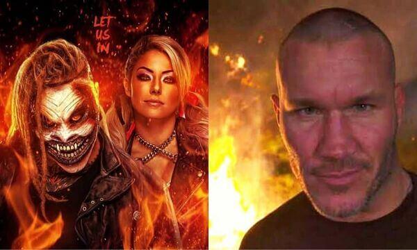 راندي اورتن يحرق ذا فيند بالكامل وأليكسا بليس تتلقى التعازي