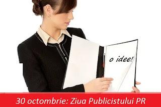 30 octombrie: Ziua Publicistului PR