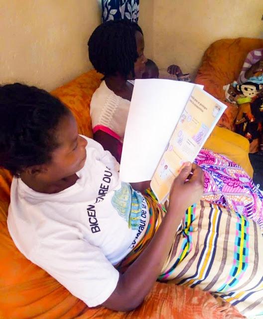 Информационные буклеты о COVID19 для семей в Конго