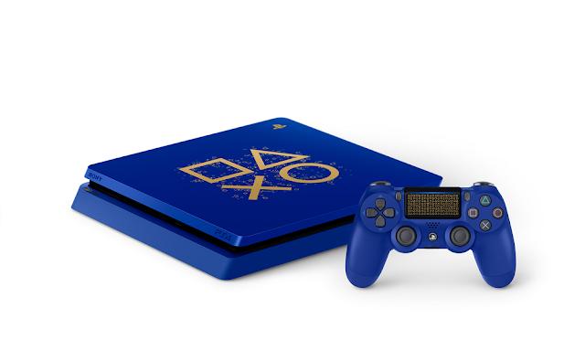 Sony anuncia la nueva edición limitada Days of Play del PlayStation 4