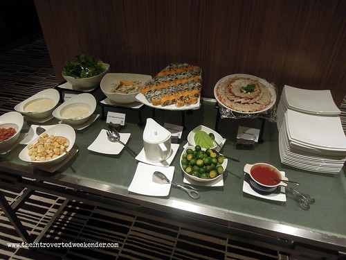 Food at the Holiday Inn Makati