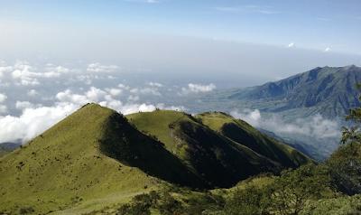 Jalur Pendakian Merbabu Via Wekas