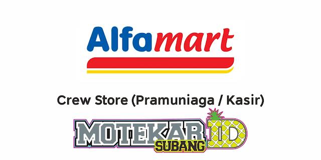 Info Lowongan Kerja Alfamart Branch Bekasi Maret 2021