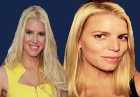 The new hair look of Jessica Simpson