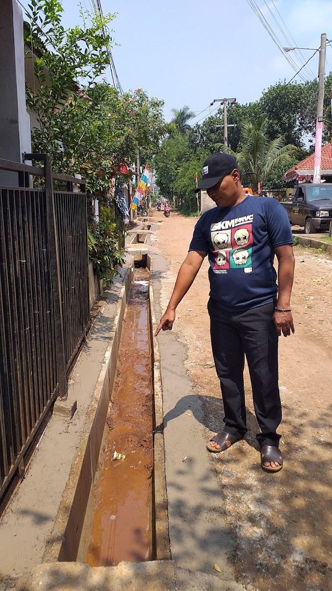 Jalan Koong Tidak Banjir lagi. TMMD Dinilai Bermanfaat dan Membantu Warga
