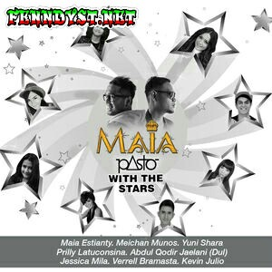 Pasto & Prilly Latuconsina - Pasto with the Stars (2015) Album cover