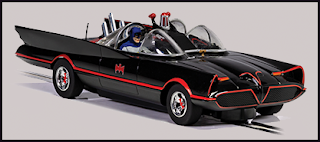 The 1966 Version of the Batmobile - 1