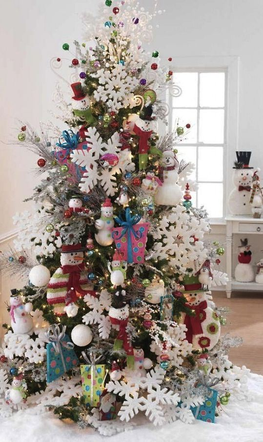 How to Criss Cross Ribbons on a Christmas Tree How to Choose a Theme for Your Christmas Tree: 30+ Decoration Ideas