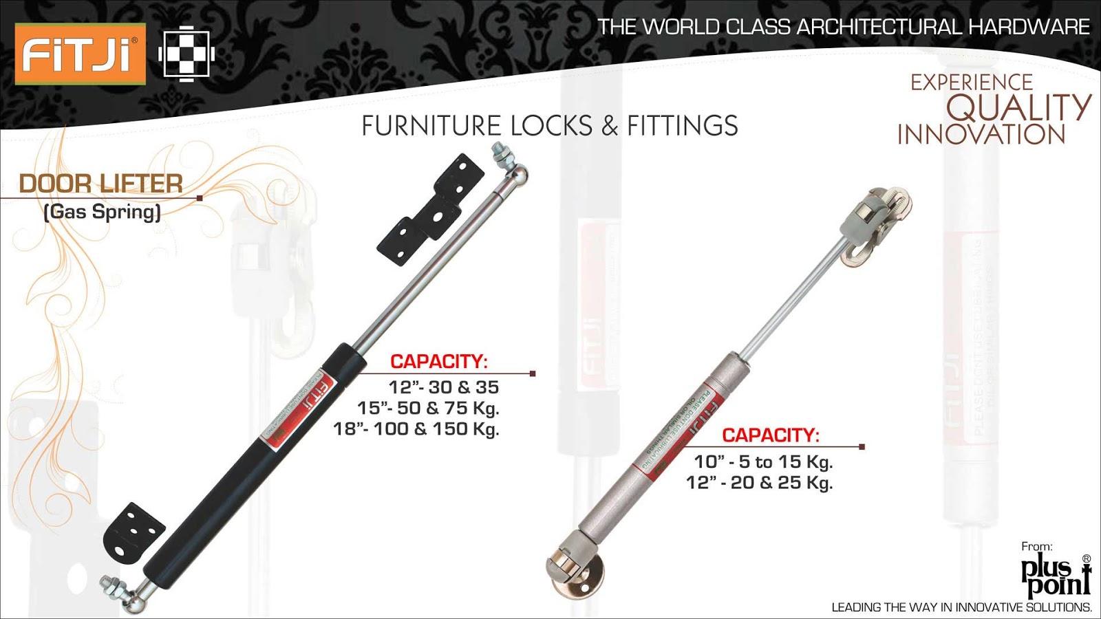 Door Lifter H (Gas Spring)  Door Lifter L (Gas Spring)  sc 1 st  fitji locks & FITJI LOCKS