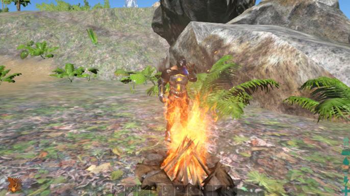 Construir uma fogueira