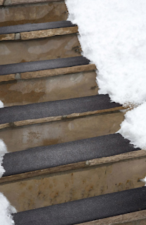 Snow- Melting Stair Mat
