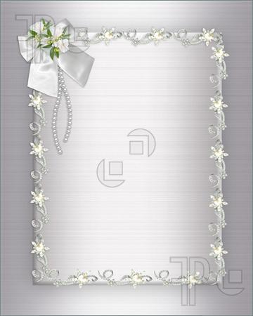 Welcome To Fashion Forum Wedding Invitation Background
