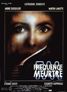 affiche, fréquence meurtre, thriller, catherine deneuve, andré dussollier
