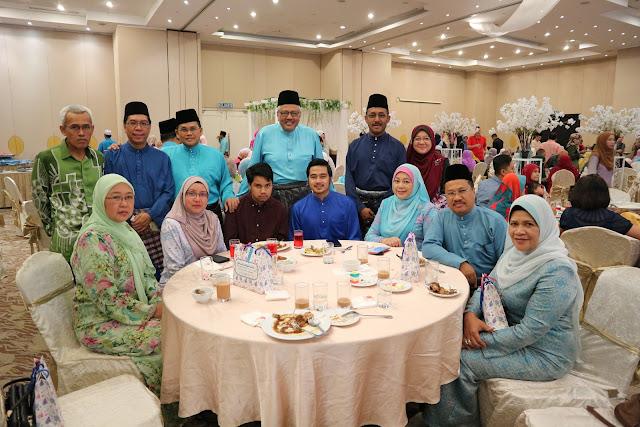 Majlis Perkahwinan Anak Dato Wan Nazari Di Terengganu