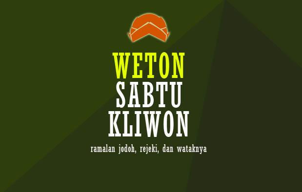 Weton Sabtu Kliwon