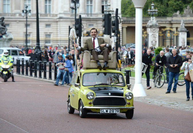 Rowan Atkinson: Mr Bean 25 years of humour celebrated in London