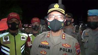 TNI-Polres Dharmasraya Gelar Patroli Skala Besar