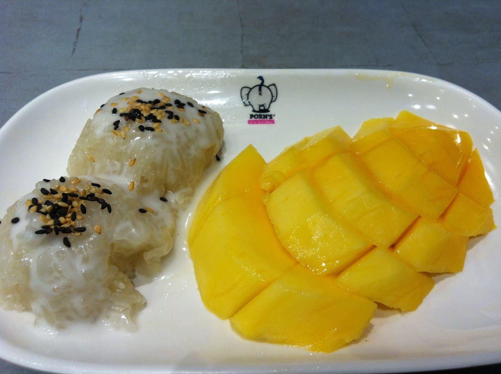 how to say mango in thai
