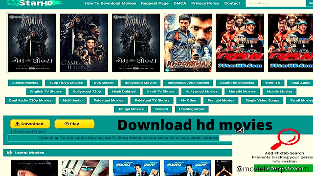 7Starhd- Download Hollywood, Bollywood, Dubbed 300MB Movies in HD