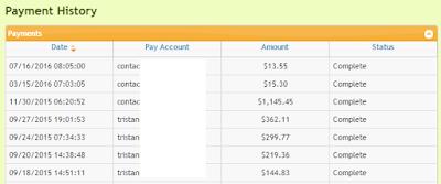 L'argent que j'ai gagné avec LinkBucks