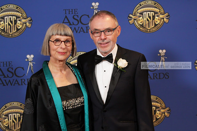 Academy Award Winners Lois Burwell and husband John Toll. ASC