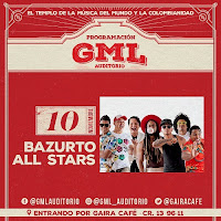 BAZURTO ALL STAR en CONCIERTO 1