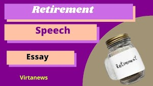 निरोप समारंभ मराठी निबंध Retirement Speech In Marathi Nibhndh