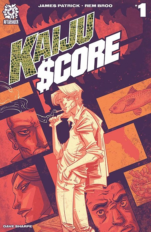Cover of Kaiju Score #1