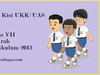Kisi Kisi UKK B. Arab Kelas 7 Kurikulum 2013