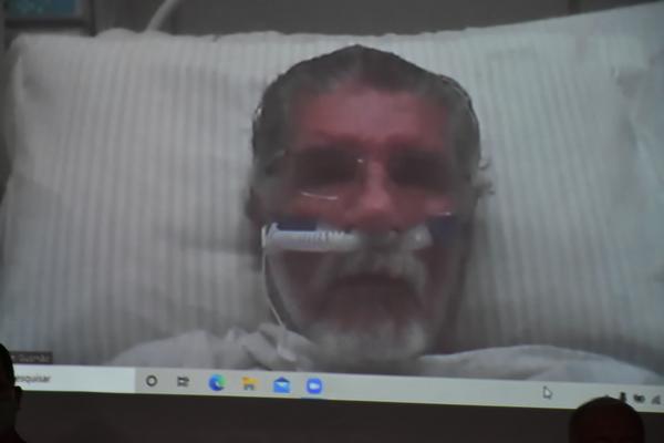 Conquista: Internado com Covid-19, Herzem Gusmão toma posse em cerimônia online