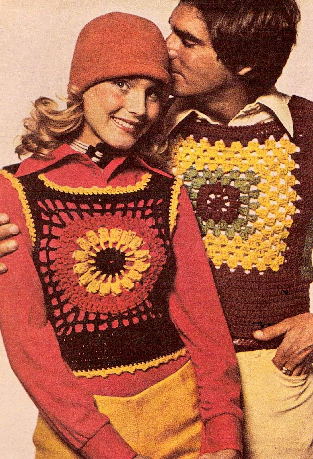1970 S Crochet Fashion ⋆ Lazy Daisy Jones
