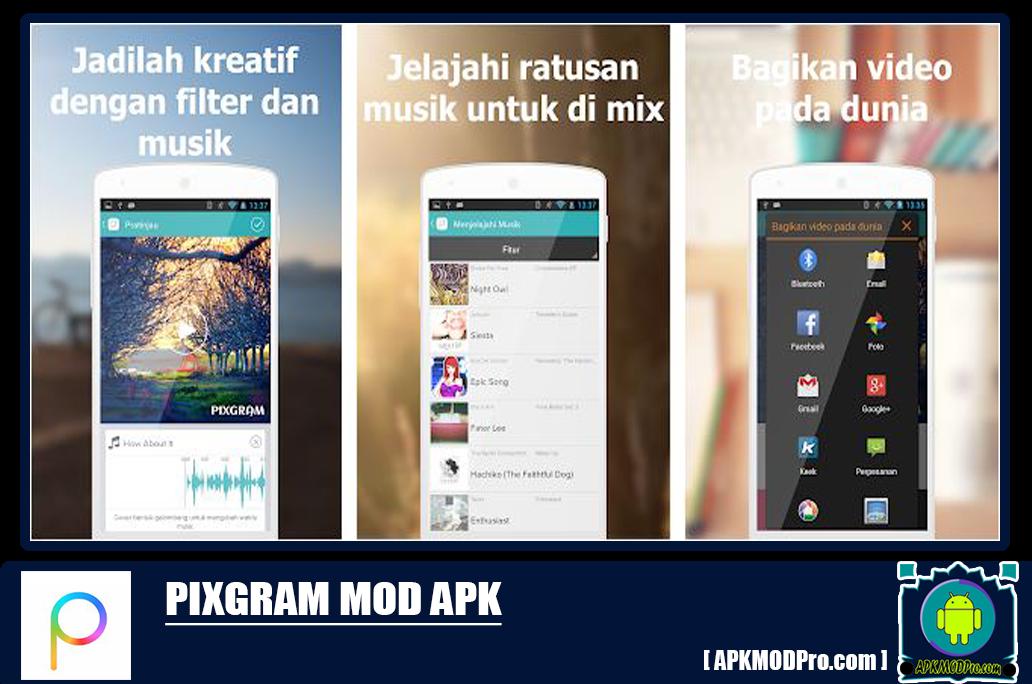 Download Pixgram - slideshow foto musik MOD APK 2.0.23 [No Ads] Versi Terbaru 2020