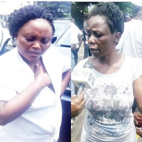 Lagos Woman Caught After Kidnapping Her Sister's Daughter...Find Out Her Shocking Reason (Photo)